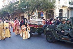 Λαμπρή λιτανεία για τον Άγιο Δημήτριο στη Θεσσαλονίκη