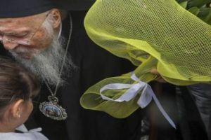 """Ο Οικουμενικός Πατριάρχης από τη Θεσσαλονίκη:""""Προστατέψτε τα παιδιά"""""""