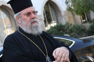 Όλα καλά κατά τους ιατρούς με την υγεία του Αρχιεπισκόπου Κύπρου