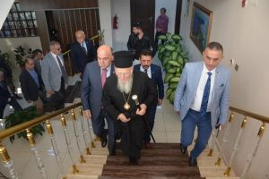 Ο Οικουμενικός Πατριάρχης Βαρθολομαίος επισκέφθηκε πρώτη φορά την Σινώπη του Πόντου