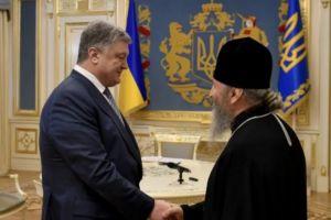 Συνάντηση Ποροσένκο-Ονούφριου και επίσημη διάψευση για επαφή με Πατριάρχη Βαρθολομαίο