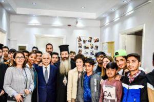 Η Αρχιεπισκοπή Αθηνών και η Τοπική Αυτοδιοίκηση στο πλευρό των ανήλικων προσφύγων της «ΑΠΟΣΤΟΛΗΣ»