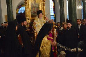 Ο Οικουμενικός Πατριάρχης στον πανηγυρίζοντα Ιερό Ναό Αγίου Δημητρίου Κοινότητας Ταταούλων