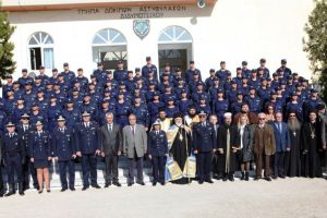 Ορκωμοσία νέων δοκίμων αστυφυλάκων