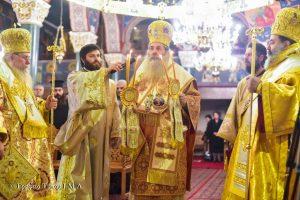Η Μητρόπολη Λαγκαδά, Λητής και Ρεντίνης εόρτασε τον Άγιο Δαμασκηνό Στουδίτη με κάθε επισημότητα