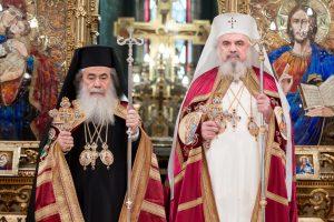 Πατριάρχης Ιεροσολύμων στο Βουκουρέστι για τον εορτή του Αγίου Αποστόλου Ανδρέα
