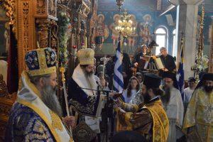 Τα Ελευθέρια της Αριδαίας και οι Πολιούχοι της  Άγιοι Νίκανδρος και Ιωαννίκιος,εορτάσθηκαν με σεβασμό και μεγαλοπρέπεια