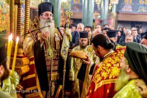 Παρουσία του Σεβ. Πειραιώς Σεραφείμ η εορτή του Αγίου Δαμασκηνού του Στουδίτη στην Μητρόπολη Λαγκαδά, Λητής και Ρεντίνης