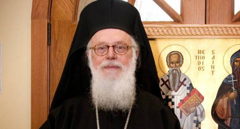 Στο στόχαστρο εθνικιστικών δημοσιευμάτων ο Αρχιεπίσκοπος Αλβανίας Αναστάσιος