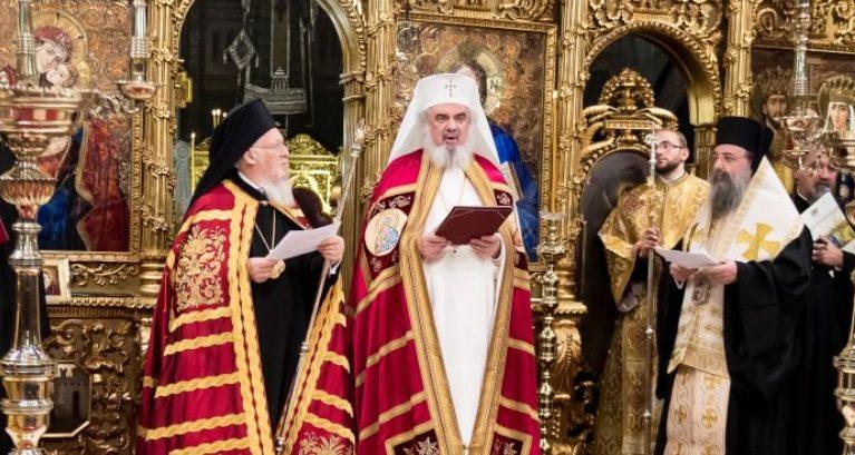 Δοξολογία στο Βουκουρέστι παρουσία του Οικουμενικού Πατριάρχη
