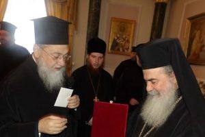 Προσκύνημα του Κορίνθου Διονυσίου στους Αγίους Τόπους