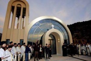 Θυρανοίξια του Ιερού Ναού στο νέο Κοιμητήριο του Δήμου Γλυφάδας