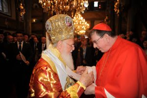 Επίσημη Παπική  αντιπροσωπεία  στο Φανάρι για τη Θρονική εορτή του Αγίου Ανδρέου