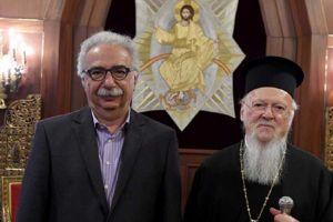 Σε εξέλιξη η συνάντηση Γαβρόγλου- Πατριάρχη και Ιεράς Συνόδου