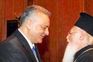 Με τον Μ.Κεφαλογιάννη συναντήθηκε ο Οικουμενικός Πατριάρχης