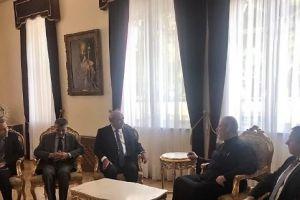 Ο Αρχιεπίσκοπος Κύπρου Χρυσόστομος δέχθηκε τον Υφυπουργό Μάρκο Μπόλαρη