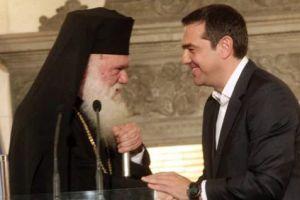 """Ο Πρωθυπουργός εκθέτει τον Αρχιεπίσκοπο και υπερθεματίζει : Θαύμα η """"συμφωνία"""" με την Εκκλησία"""