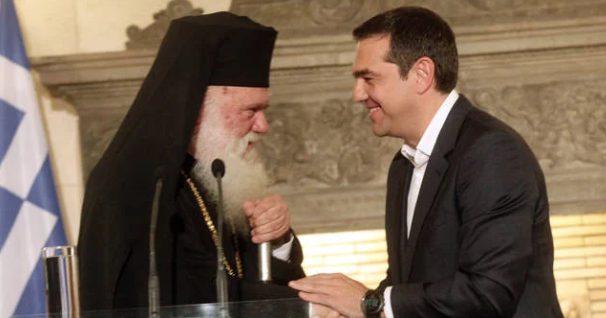 "You are currently viewing Ο Πρωθυπουργός εκθέτει τον Αρχιεπίσκοπο και υπερθεματίζει : Θαύμα η ""συμφωνία"" με την Εκκλησία"