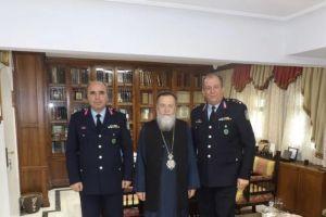 Συνάντηση του Κορίνθου Διονυσίου με τον Αστυνομικό Διευθυντή Πελοποννήσου