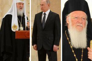 Ο Πούτιν απειλεί  το Φανάρι και κατηγορεί τους άλλους γιαυτά που κάνει αυτός: να πολιτικοποιεί  το θέμα της Ουκρανικής Εκκλησίας