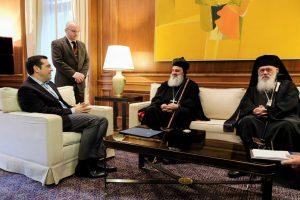 Ο Συροϊακωβίτης Πατριάρχης Αντιοχείας και ο Αρχιεπίσκοπος στον Πρωθυπουργό