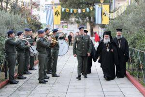Η εορτή της Αγίας Βαρβάρας, προστάτιδος του Πυροβολικού, στην Ι.Μητρόπολη Νεαπόλεως
