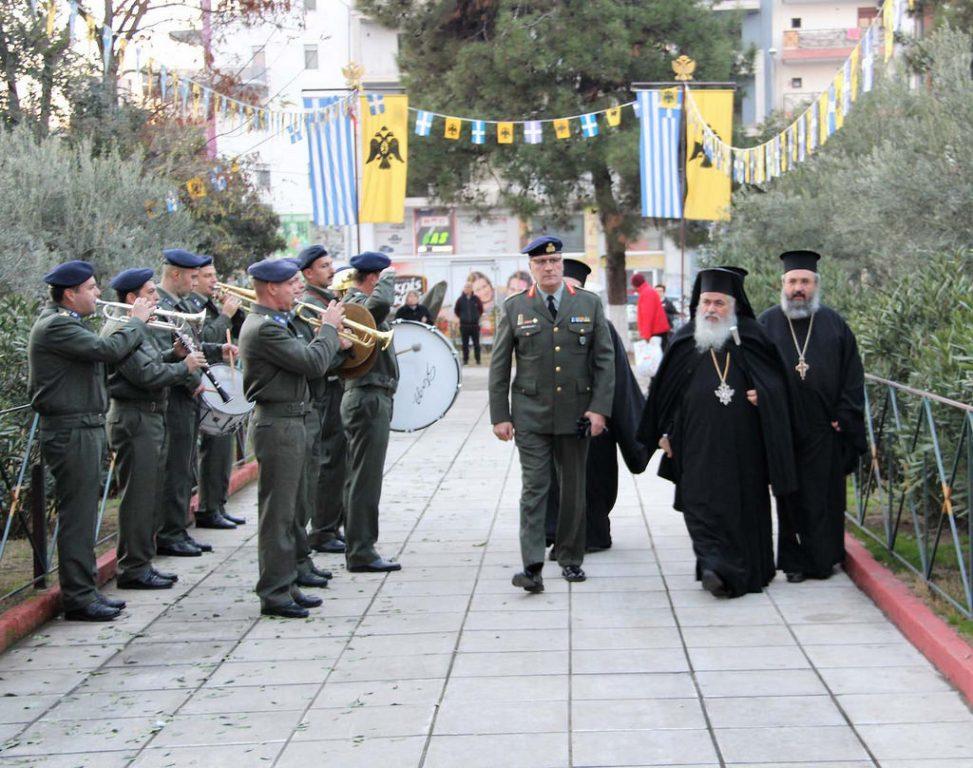 You are currently viewing Η εορτή της Αγίας Βαρβάρας, προστάτιδος του Πυροβολικού, στην Ι.Μητρόπολη Νεαπόλεως