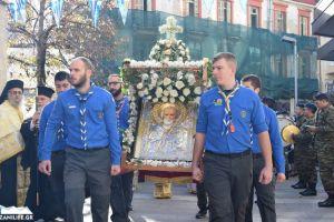 Λαμπρή η λιτανεία του Πολιούχου της Κοζάνης Αγίου Νικολάου