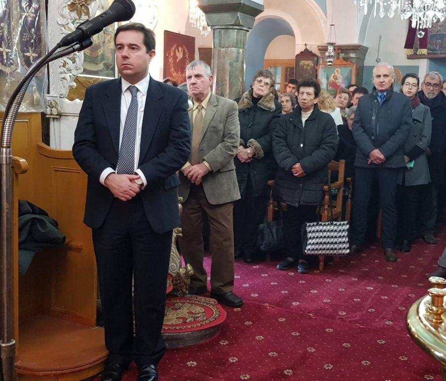 Λαμπρή χειροτονία στην ιστορική Μονή Αγίου Στεφάνου στη Χίο