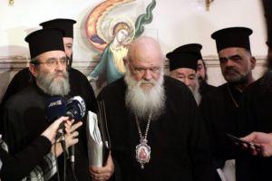 Ο ΙΣΚΕ αρνήθηκε να συζητήσει το θέμα της μισθοδοσίας με τον Αρχιεπίσκοπο επικαλούμενος  την ομόφωνη απόφαση της Ιεραρχίας.
