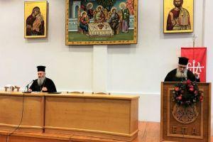 Ο Σεβ. Μητροπολίτης  Ναυπάκτου Ιερόθεος στην 8η ιερατική σύναξη της Ι. Μητροπόλεως Εδέσσης