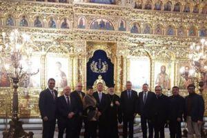 Με Ελληνες βουλευτές του εξωτερικού συναντήθηκε ο Διδυμοτείχου Δαμασκηνός