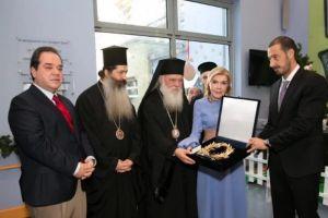 """Ο Αρχιεπίσκοπος Ιερώνυμος επισκέφθηκε με τον Πρωτοσύγκελλο της Ι. Αρχιεπισκοπής την """"Ελπίδα"""""""