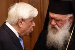 Τη συμπαράστασή του εξέφρασε στον Αρχιεπίσκοπο ο Πρόεδρος της Δημοκρατίας για την έκρηξη στον Άγιο Διονύσιο