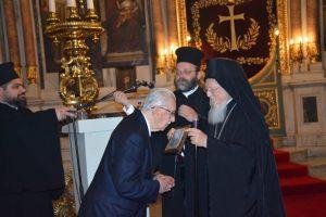 Ο Οικουμενικός Πατριάρχης στά 70χρονα τοῦ Συνδέσμου Μουσικοφίλων Πέραν