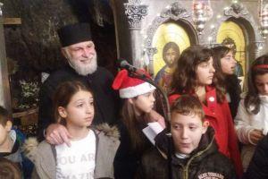 Η εορτή των Χριστουγέννων και της Παναγίας του βράχου, της Αγιοισιδωρίτισσας, στον Λυκαβηττό