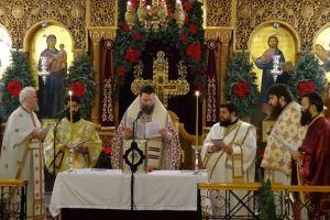 Η Θ.Λειτουργία του Αγίου Ιακώβου του Αδελφοθέου στην Καλογραίζα