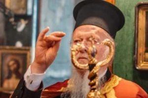 Ο Οικουμενικός Πατριάρχης Βαρθολομαίος στο Βατοπαιδινό Μετόχι του Αγίου Ανδρέα στο Γαλατά