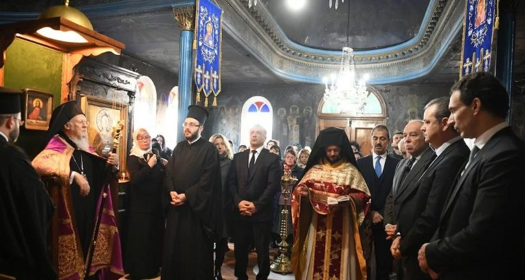 You are currently viewing Ο Οικ.Πατριάρχης από το Βατοπεδινό Μετόχι της Πόλεως: «Χρησιμοποιεί η αδελφή Εκκλησία της Ρωσίας την διακοπή κοινωνίας ως μοχλό εξαναγκασμού»