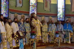 """Λαρίσης Ιερώνυμος στον Άγιο Νικόλαο Λαρίσης : """"Η τιμή στους Αγίους να γίνεται αφορμή περισκέψεως και προσευχής"""""""