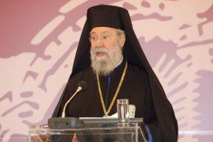 Αρχιεπίσκοπος Κύπρου Χρυσόστομος:Στόχος της Τουρκίας ολόκληρη η Κύπρος