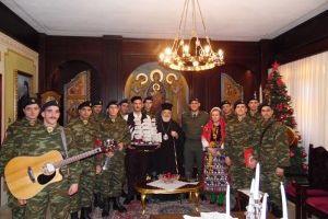 Χριστουγεννιάτικα κάλαντα στην Ι. Μητρόπολη Διδυμοτείχου