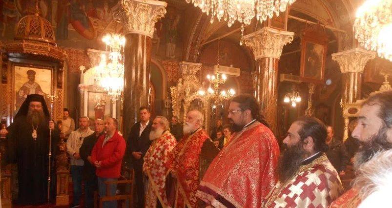 Η Χίος τίμησε τον Αγιο Αγγελή τον εξ Άργους