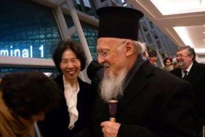 Έφτασε ο Οικουμενικός Πατριάρχης στη Σεούλ