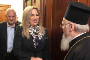 Γεννηματά από το Φανάρι: «Καμία συμφωνία δεν μπορεί να υπάρξει χωρίς τη συμμετοχή του Πατριαρχείου