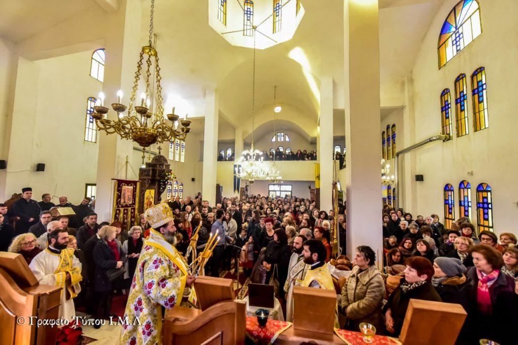 Η εορτή του Οσίου Πορφυρίου στο Ηράκλειο Λαγκαδά