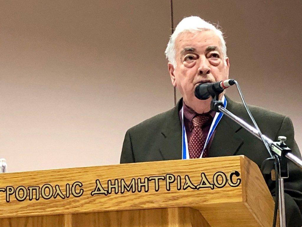 Ανώτατη τιμητική διάκριση στον σπουδαίο Εκπαιδευτικό Χρήστο Ξενάκη  Η εορτή των Τριών Ιεραρχών στην Μητρόπολη Δημητριάδος
