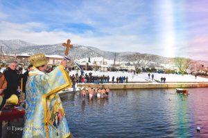 Η Εορτή των Θεοφανείων στην  Ι.Μητρόπολη Λαγκαδά, Λητής και Ρεντίνης