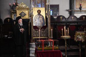 Πατριάρχης Βαρθολομαίος κατά τη σημερινή θεία λειτουργία στο Φανάρι: «Η Εκκλησία της Κωνσταντινουπόλεως πάντοτε συμπορεύεται με τα αιτήματα των καιρών και έχει οράματα δια το μέλλον»