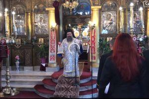 Aπάντηση του μητροπολίτη Χίου Μάρκου στο παραλήρημα Ερντογάν: Οι Έλληνες πέφτουν στη θάλασσα μόνο για τον Σταυρό!